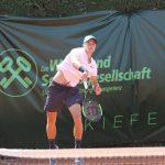 Rudi Molleker – die Nr. 1 bei den Just Pools Kirschbaum International